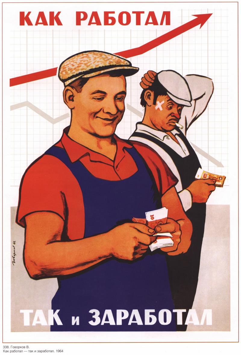 Плакат трудящихся