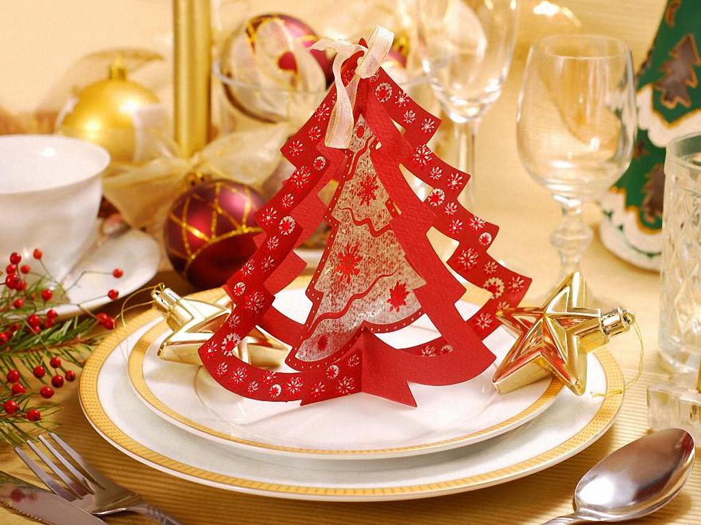 10 идей праздничного украшения стола