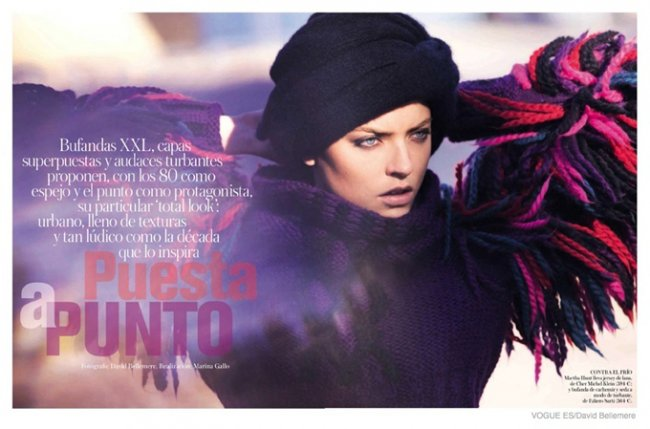 Марта Хант в Vogue Spain