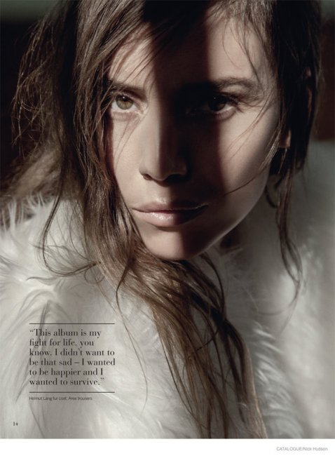 Lykke Li в Catalogue Magazine