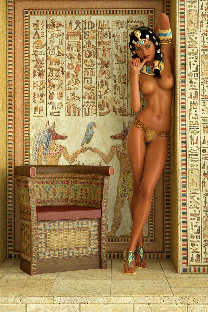 Голые египтианки