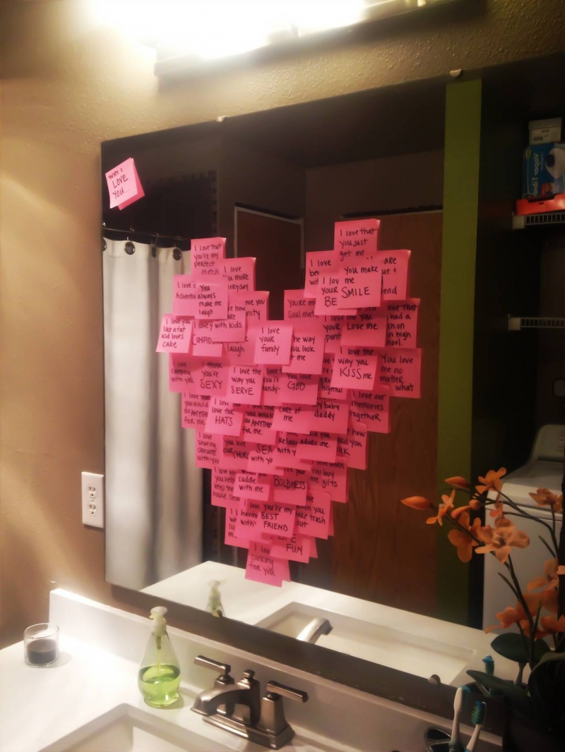 Романтичные подарки своими руками для любимого