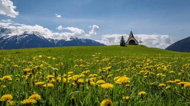 Австрия: Timelapse видео
