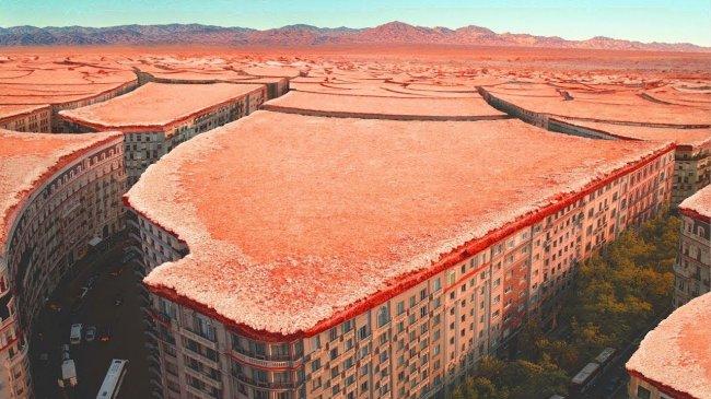 Астрономы не верят своим глазам. На МАРСЕ обнаружен заброшенный город. Есть ли жизнь на Марсе