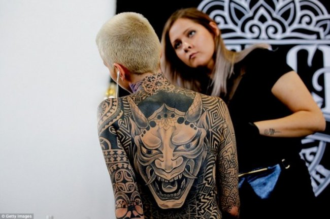 Moscow tattoo convention 2018